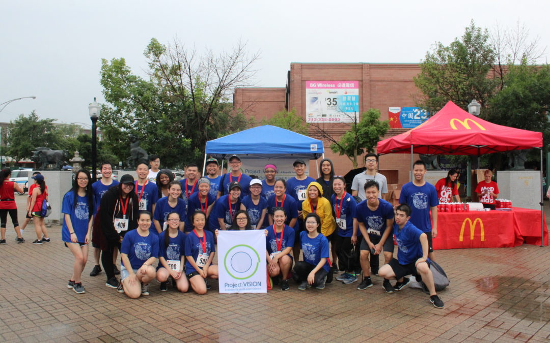 Team PV races in the 2018 Chinatown 5K & Youth Run