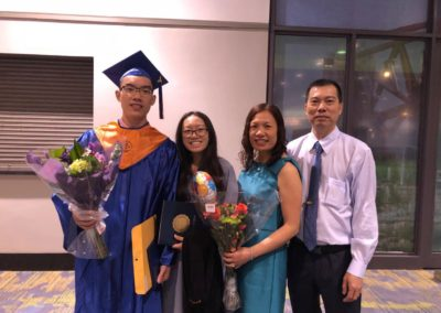 Eric C. Graduation