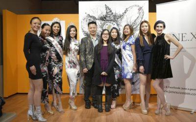 PV Student, Kaila C., speaks at Jane.X Fashion Show