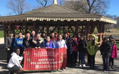 Celebrating Earth Day with Lincoln Park Conservancy