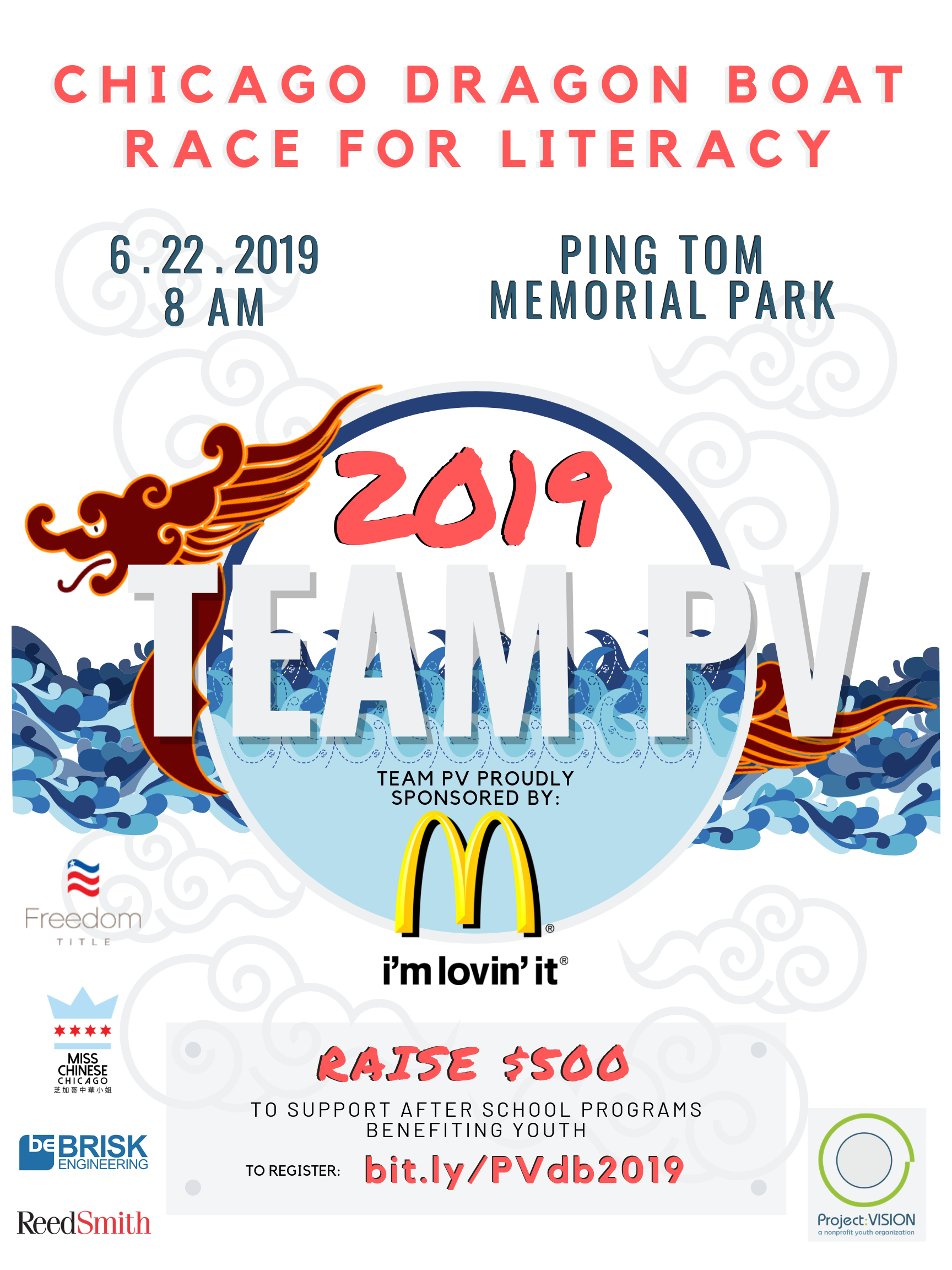 Dragon Boat Event Poster