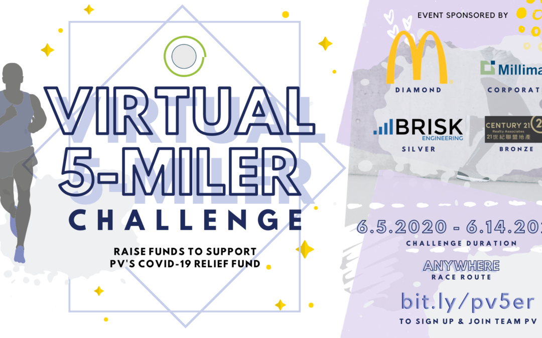 2020 Team PV Virtual 5-Mile Challenge
