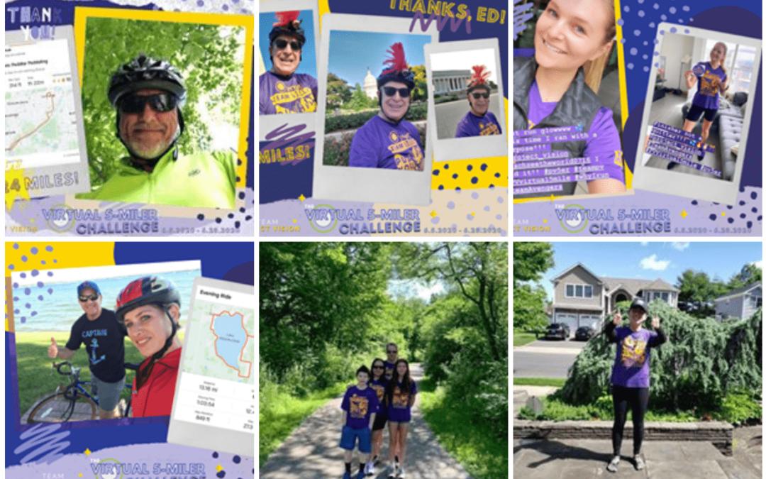 Virtual 5 Mile Challenge – Congratulations Team PV!