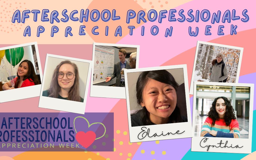 Afterschool Professionals Appreciation Week