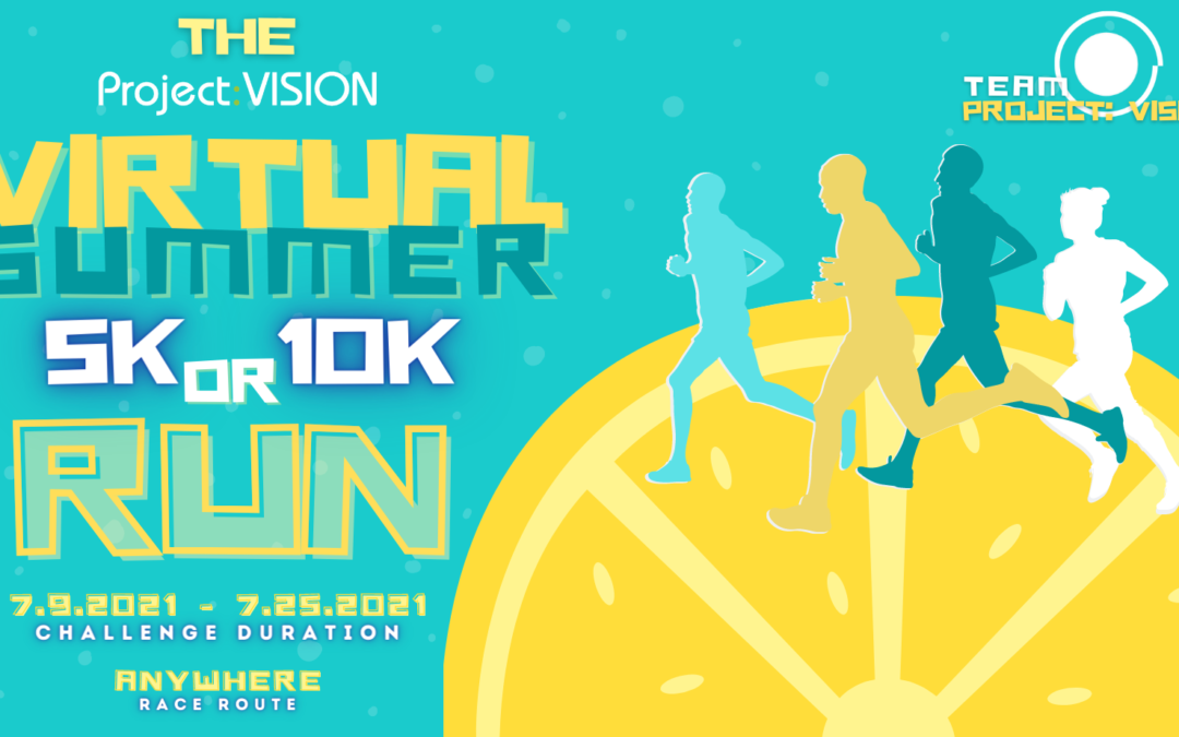 TEAM CROWE in the 2021 Project: VISION Virtual 5K & 10K Challenge